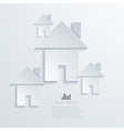 modern real estate background vector image vector image
