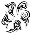 Set of tribal art tattoos vector image vector image