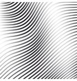 Silver abstract background with wave line pattern vector image