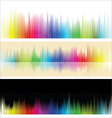 different colorful background vector image vector image