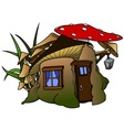 Elf House vector image