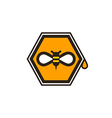 Honeybee Icon vector image vector image