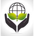 Planet earth design vector image vector image