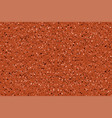 seamless red granite pattern for floor and wall vector image