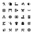 Sports and Games Icons 5 vector image