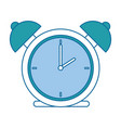 alarm time clock isolated icon vector image vector image