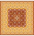 Bright orange scarf vector image vector image