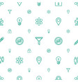 button icons pattern seamless white background vector image vector image