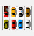 city parking web banner shortage parking vector image vector image