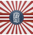Independence Day Sale modern graphic Badge vector image vector image