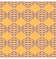 Rhombus chaotic seamless pattern 7607 vector image vector image