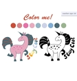 stay cool unicorn vector image vector image