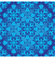 Bright blue gradient seamless pattern vector image vector image