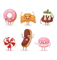 Sweet emotion character vector image vector image