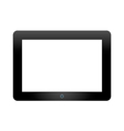 Tablet PC on white background vector image