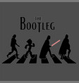 bootleg image vintage toys t-shirt vector image vector image
