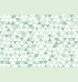 green nature colorful abstract triangles retro vector image vector image