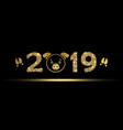 new year banner with the symbol of the year vector image vector image