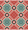 seamless traditional asian ornamental motive vector image vector image