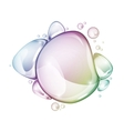water drop group rainbow vector image vector image