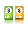 discount sale vector image vector image
