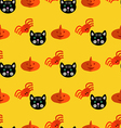 Halloween pattern29 vector image