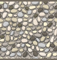 pebble background seamless pattern for your vector image vector image