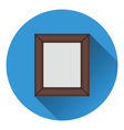 Picture frame icon vector image vector image
