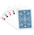 Poker card vector image