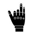 sport gloves design vector image vector image