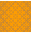 Grey-brown and orange abstract geometric seamless vector image