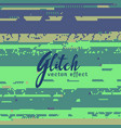 abstract glitch background for corrupted image vector image vector image