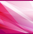 abstract pink stripes tech minimal background vector image