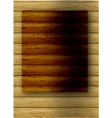 abstract wood background vector image