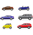 Cars icons set part 2 vector image vector image