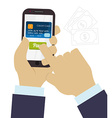 Digital payment design vector image vector image