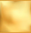 golden metal realistic gradient gold pattern vector image vector image