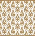 vintage arabesque ornament vector image