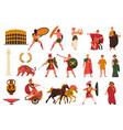 ancient roman culture set