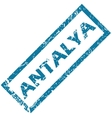 Antalya rubber stamp vector image vector image