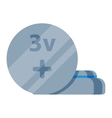 Batterie icon isolated vector image vector image
