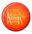 Blank portable screen icon flat style vector image vector image