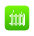 Cast-iron battery icon green