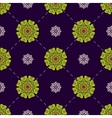 Colorful floral wallpaper Floral seamless pattern vector image vector image