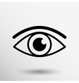 Eye icon vision symbol look graphic pictogram vector image