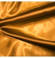 Golden satin texture vector image