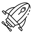 help underwater motor icon outline style vector image
