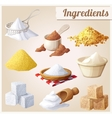 Ingredients for cooking vector image