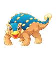 Little ankylosaurus cartoon