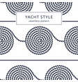 rope spiral seamless pattern vector image vector image